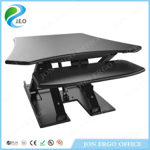 Height Adjustable Computer Sit Stand Desk (JN-LD08S) pictures & photos