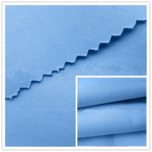 Polyester DTY Knit Solid Dyed Scuba Textiles Fabric Air Layer Spandex Textile, Garment Fabric pictures & photos