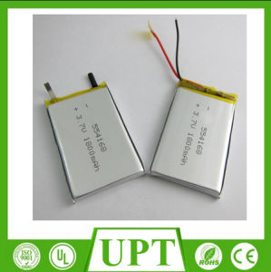 Rechargeable Li-ion Lithium Ion Li-Polymer 554168 3.7V 1800mAh Lipo Battery pictures & photos