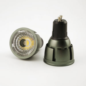 Aluminum 7W COB LED Recessed Downlight GU10 Bulb (LT9002-7W) pictures & photos