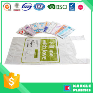 HDPE Vesth Handle Charity Collection Bags pictures & photos