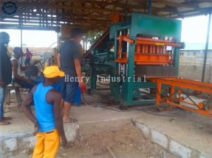 Qt5-20 Automatic Hydraulic Concrete Block Brick Making Machine pictures & photos