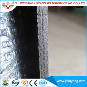 Self Adhesive Polymer Modified Bitumen Building Material, Polyester Felt Reinforced Self-Adhesive Bituminous Waterproof Membrane pictures & photos
