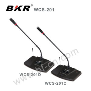 Wcs-201c Video-Tracking Black Meeting Microphone System pictures & photos