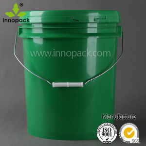 5 Gallon Plastic Buckets with Handle and Lid pictures & photos