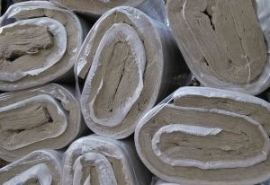 Building Material Rock Wool Blanket with Fiberglass Cloth pictures & photos