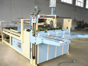 Semi-Automatic Corrugated Carton Gluing Machine pictures & photos