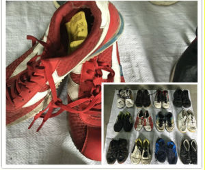 Warehouse Sorted Premium Cream Quality Used Shoes pictures & photos