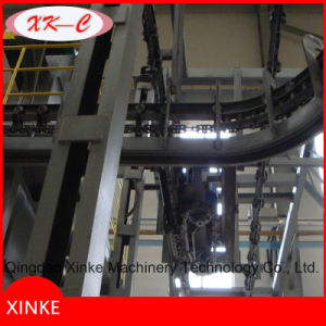Hanging Chain Catenary Through Shot Blasting Machine pictures & photos
