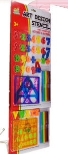 Educational Toys with Letters and Stencil Ruler pictures & photos