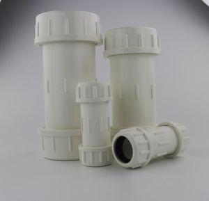 Supply PVC Compression Coupling pictures & photos