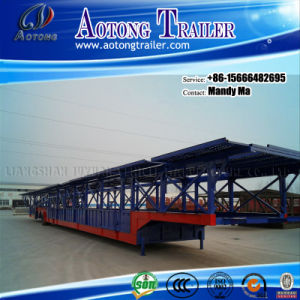 3 Axles Car/SUV Carrier Semi Trailer for Vietnam pictures & photos