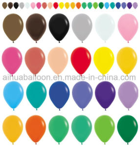 Round Shape Latex Balloon (8′′/12 inch)
