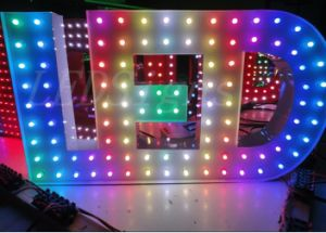 LED Screem Pixel Programmable RGB Color Changing Light (ADS-IC12RGB)