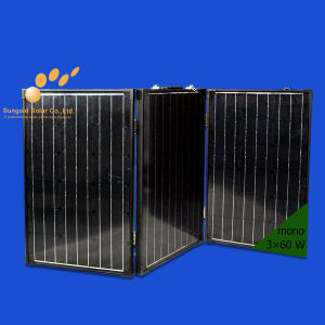 Foldable Solar Panel Kit for Camping Hiking Traveling 180W pictures & photos