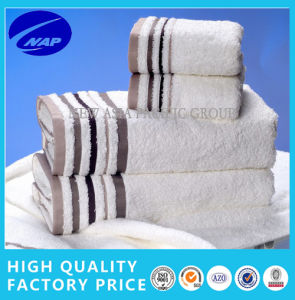 100% Cotton Thick Looped Pile Jacquard Towel Set