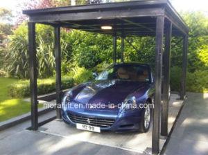Parking Equipment Hydraulic Scissor Car Lift pictures & photos