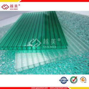 Grade a Yuemei Lexan Twin Wall Hollow Polycarbonate Sheet Price pictures & photos