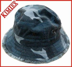 100% Cotton Camo Fishing Bucket Cap pictures & photos
