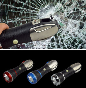 LED Car Emergency Multifunctional Tools Flashlight pictures & photos