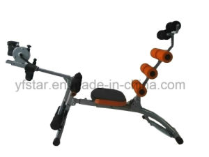 Fitness Ab Pack with Pedal Waist Exerciser, Tk-075A pictures & photos