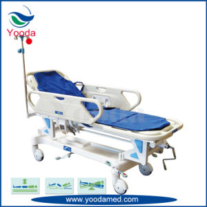 Manual Patient Transfer Trolley for Patients pictures & photos