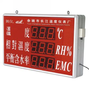 Big-Screen Temperature and Humidity Meter for Wood Processing Sites pictures & photos