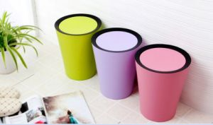 9L Colorful New Design Plastic Household Waste Bin pictures & photos