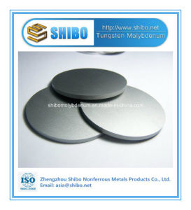 Factory Direct Supply High Purity 99.95% Molybdenum Disc with Best Quality pictures & photos