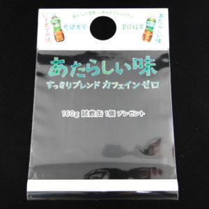 Printed Header Bags with Self-Adhesive Tape (MS-HB007) pictures & photos