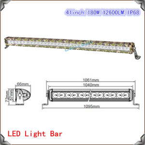 "41"" IP68 Camouflages LED Light Bar for Trucks (LED13-180W) pictures & photos"