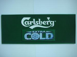 Custom Design Logo Embossed Soft PVC Bar Mat pictures & photos