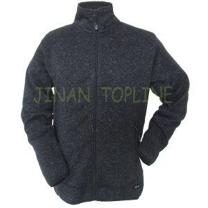 Men Micro Fleece Moisture Leisure Velveteen Jacket pictures & photos