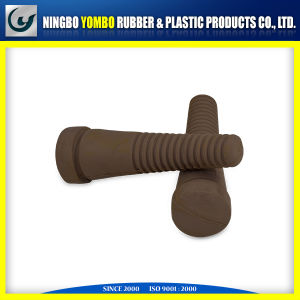 Chloropene Rubber and EPDM Mixed Rubber Wheel Rubber Part pictures & photos