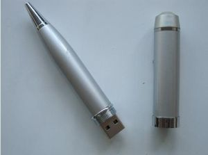 Passed H2 Metal OEM Pen USB Disk Customized Logo Available (OM-P610) pictures & photos