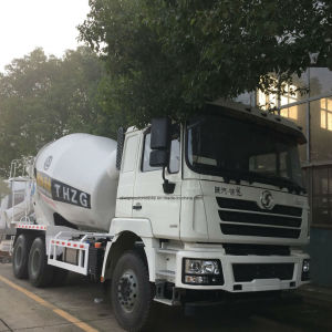 Shacman 3 Axles 10 Cubic Meter Cement Mixer Truck pictures & photos