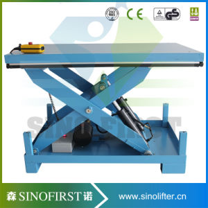 6000lb Hydraulic Stationary Custom Platform Electric Scissor Lift Table pictures & photos