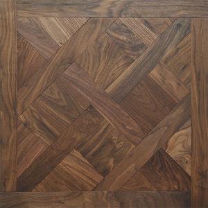 Oak Wood Mosaic Floors Floor Engineered Wooded Pattern Flooring pictures & photos