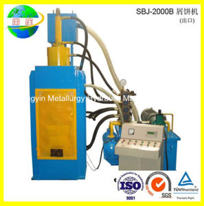 Hydraulic Metal Briquette Machine with Quality Guarantee (SBJ-200B) pictures & photos