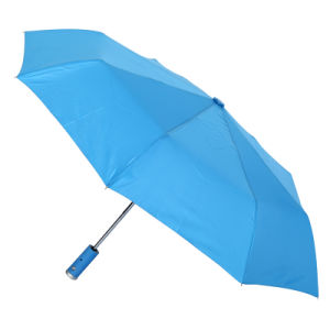 Automatic Open and Close Fold LED Umbrella pictures & photos
