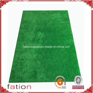 Grass Green Plain Color Shaggy Carpet High Quality Area Rug pictures & photos