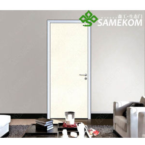 New Design Wooden Door for Bedroom, White Room Door, Internal Solid Wood Door pictures & photos