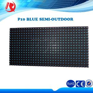 Outdoor Scrolling Text Display Panel Advertising LED Display Screen Module P10 LED Module pictures & photos