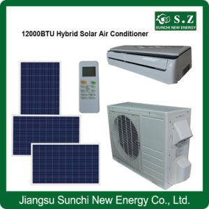 Acdc High Quality Hot Sale Hybrid Solar Air Conditioner pictures & photos