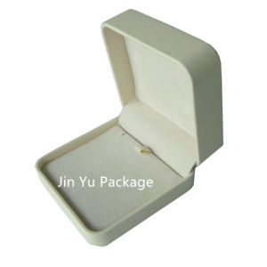 Nice Leather Gift Jewelry Packaging Box for Ring pictures & photos