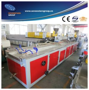 PVC Profile Production Line for Windows and Doors pictures & photos