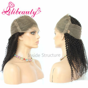 Human Hair 360 Lace Frontal Natural Hair Remy Virgin Hair pictures & photos