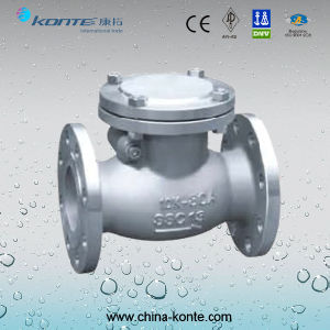 H44H JIS Stainless Steel Swing Check Valve pictures & photos