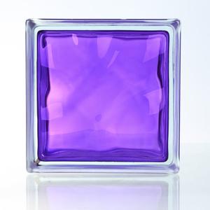 House Decorative Beautiful Purple Glass Brick/Block (JINBO) pictures & photos