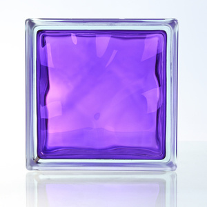 House Decorative Beautiful Purple Glass Brick/Block pictures & photos